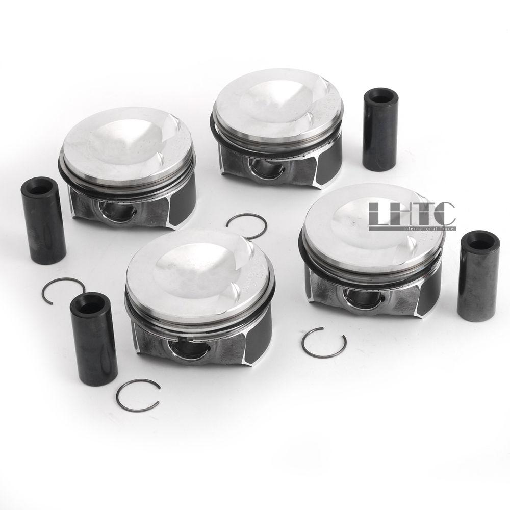 06H107065DD/N91176601/06H198151B Pistons & anneaux Standard 82.51mm 23mm pour V W Tiguan GLI G TI Audi A3 A4 A5 2.0 TFSI