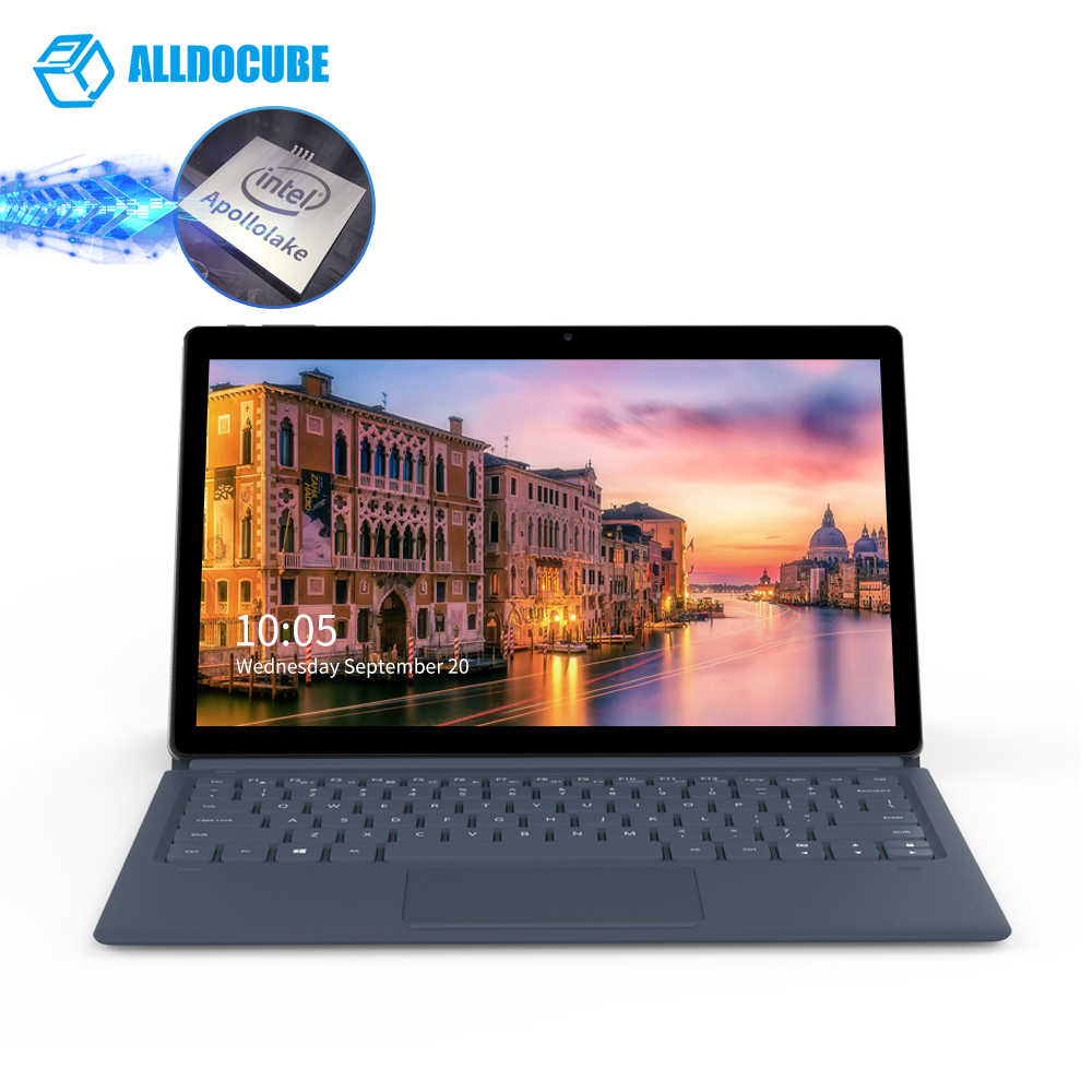 Alldocube Knote Tablet Pc 11.6 Inch Notebook Tablets Windows 10 Tablette Tablet Quad Core 6gb Ram 128gb Rom Tablete Table Pc image