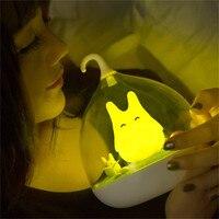 Portable Touch Dimmer LED Night Light Creative Lovely Birdcage USB Rechargeable Table Bird Light Nightlamp Children