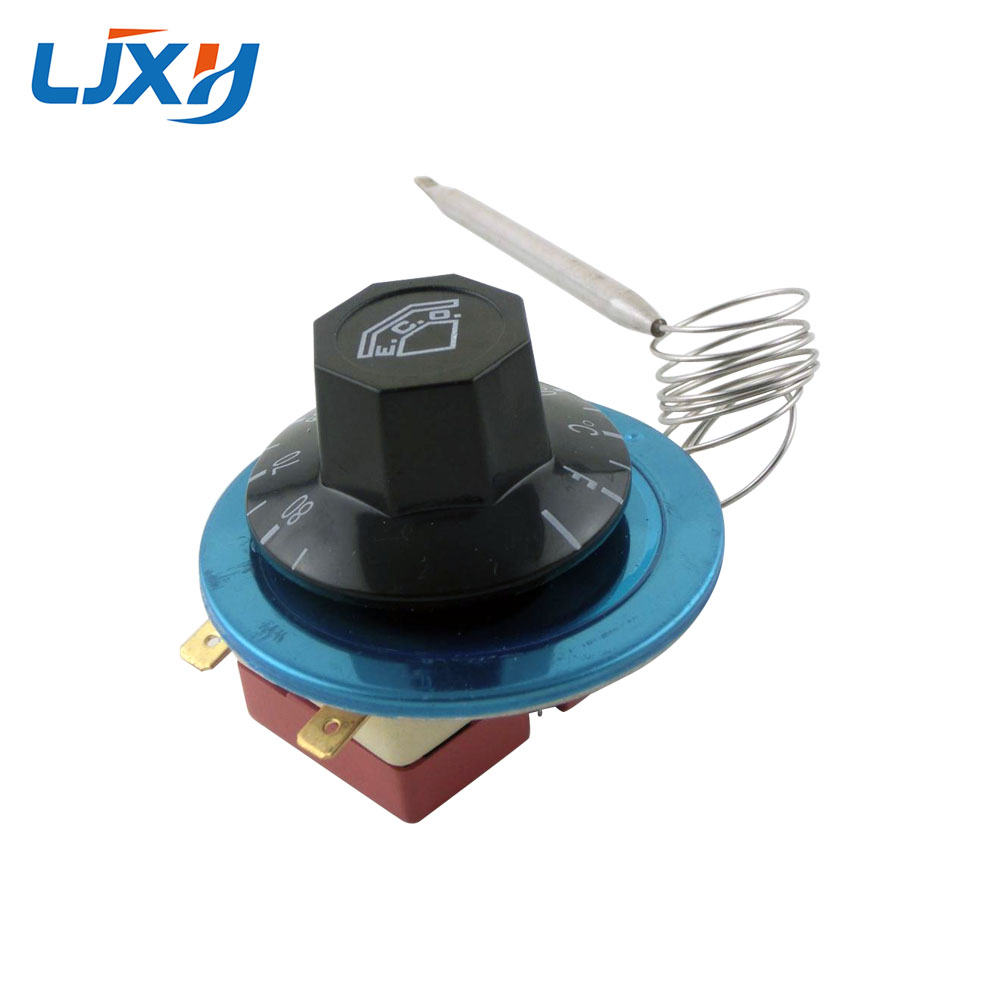 LJXH Water Heater Temperature Controller 30-80/30-110/50-300/60-200 Centigrade Retardant Plastic Shell Thermostat Knob Switch