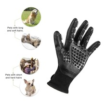 Rubber Pet Hair Comb Bath Brush Glove