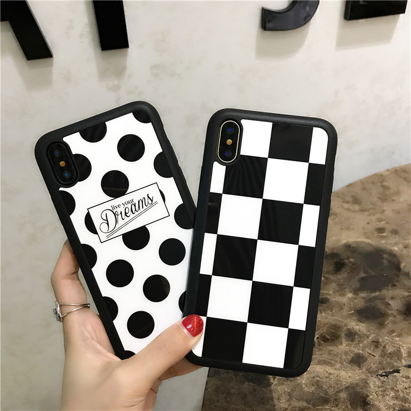 iPhone 7 6 6s plus X 8 8plus Silicone Soft Fashion painted Graffiti case 4