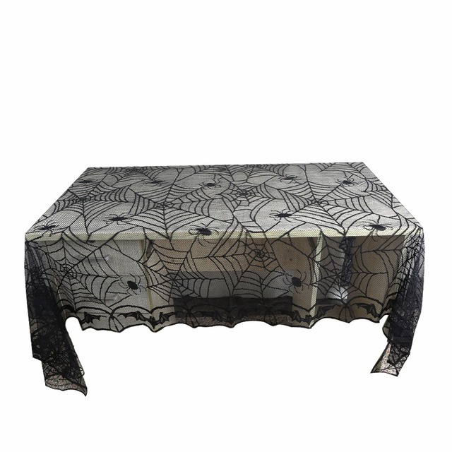 Halloween  Decorations Spider Web Tablecloth