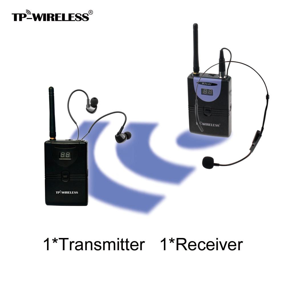 TP-WIRELESS 2.4GHz digitalni brezžični sanitarni vodniški sistem - Prenosni avdio in video - Fotografija 1
