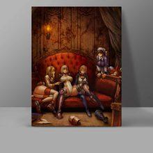 купить My Expecting Emperor Canvas Sexy Maids Painting Wall Pictures Living Room Otaku HD Print Art Painting недорого