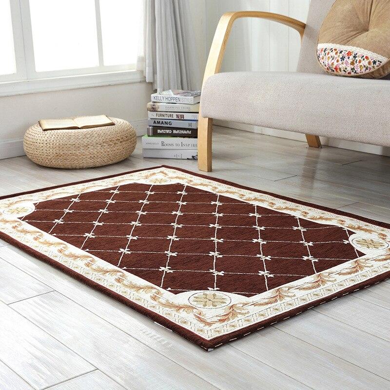 Beibehang nouveau style européen salon intérieur tapis haut de gamme chambre chevet tapis de table tapis rectangulaire maison canapé tapis