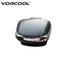 VORCOOL Portable Car Ashtray Auto Cigarette Ash Holder Smokeless Car Ashtray with LED Light