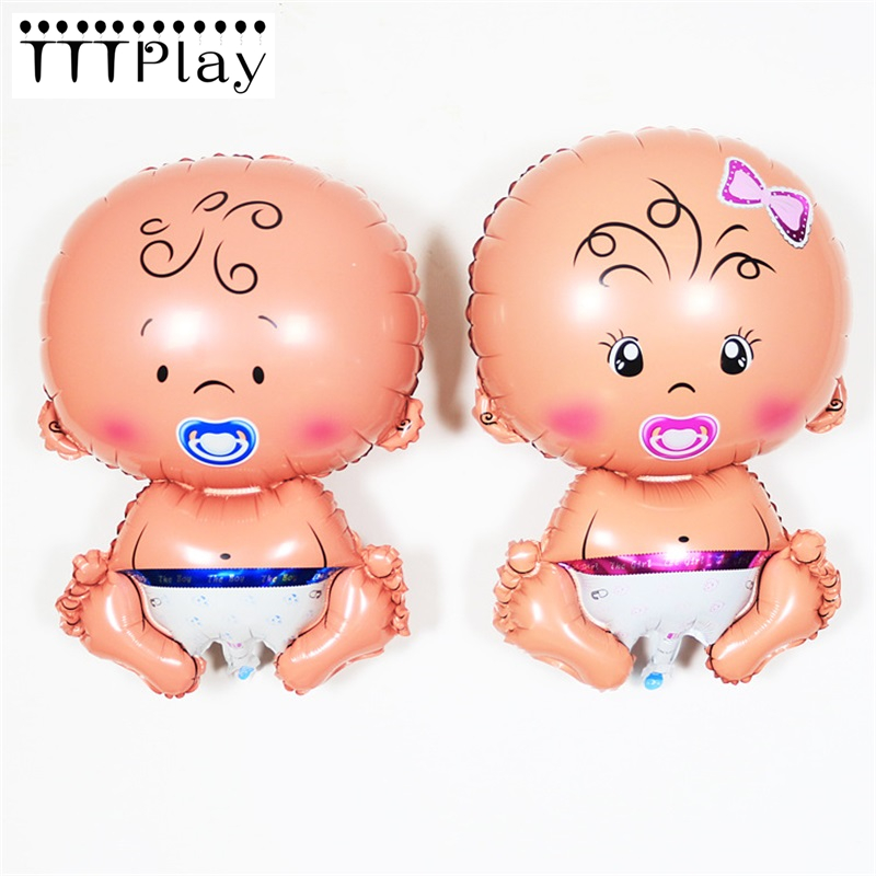 Lovely Angel Pacifier Baby Boy Girl Foil Balloon Baby Shower Inflatable Helium Ballon Wedding Decoration Birthday Party Supplies