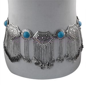 Image 4 - NEW ARRIVAL! belly dance accessories sexy Master belly dance belt women tassel coines belly dance hip scarf