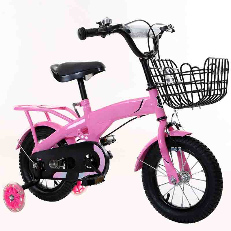Children's Bicycle 12 14 <font><b>16</b></font> 18 Inch with Rear Seat Baby Big Children image