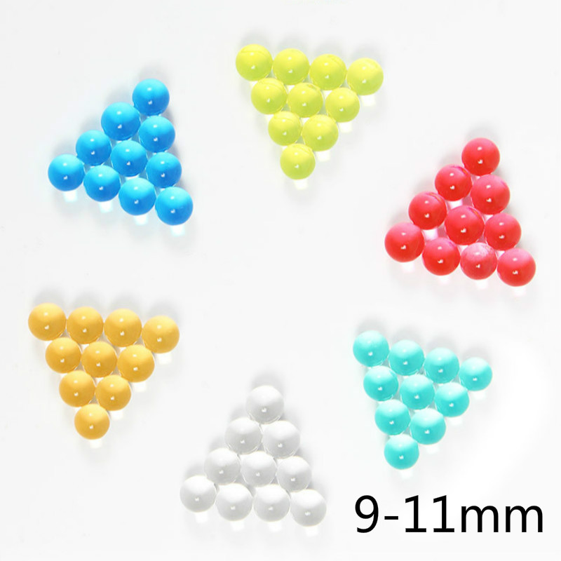 9-11mm 10000Pcs Soft Crystal Water Paintball Bullet Gun Toy Bibulous Water Gun AccessoriesToys