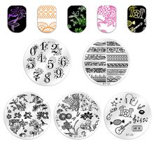 1pc 56 Designs Available Biutee Stamping Plate Lace Starfish & She