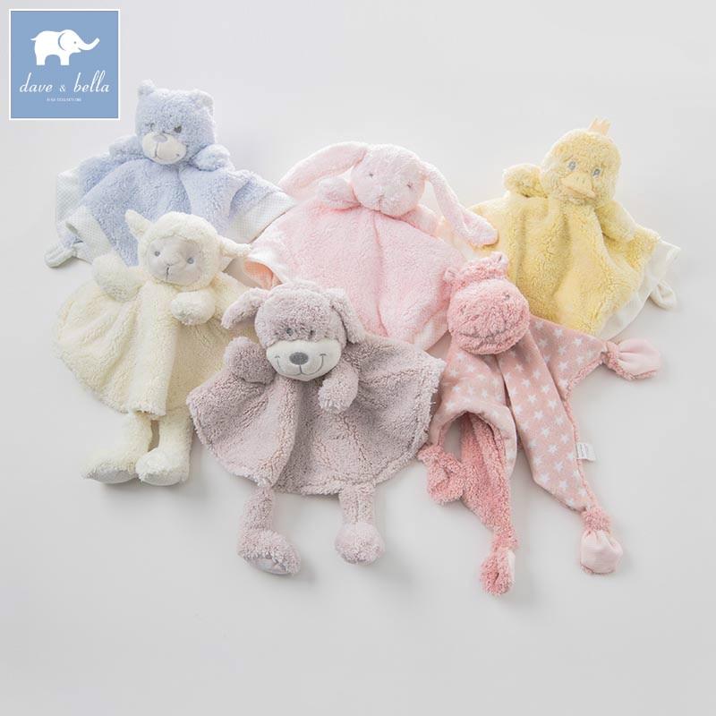 DB8302 dave bella newborn infant hand towel children bath towel Animal shape towel baby comforter