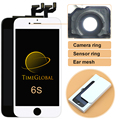 10 unids tianma lcd del teléfono móvil de calidad superior para iphone 6 s Asamblea Reemplazo de la Exhibición de pantalla Con Buen Toque 3D Envío DHL
