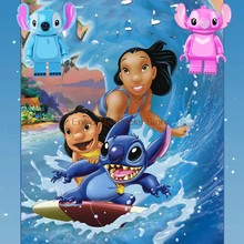 Lilo Stitch Cartoon Super Heroes Stich Angie Minions Spongebo Aciton Figures Mini Dolls Building Blocks Toys For Children(China)
