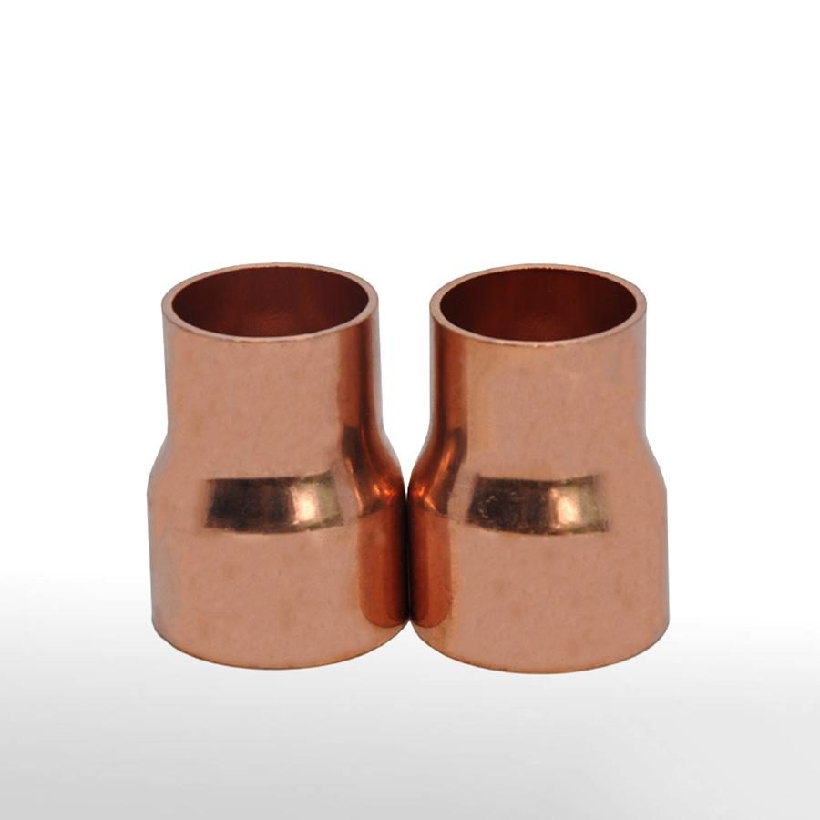 35mmX28mm Inner Diameter Copper End Feed Straight Reducing Coupling Plumbing Fitting Scoket Weld Water Gas Oil