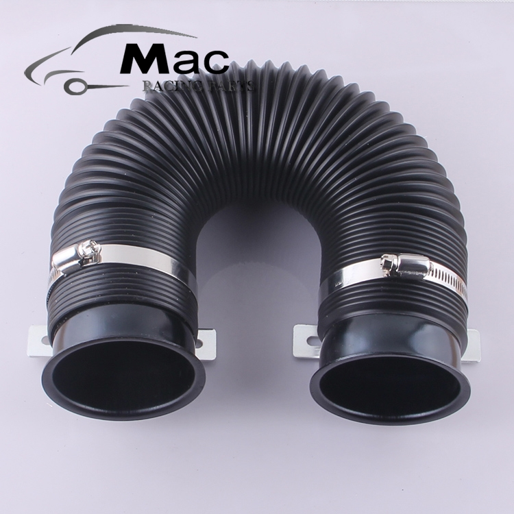 Universal Car Modification Tube Air Intake Pipe 75MM Expandable Cold For Air Filter AF5101