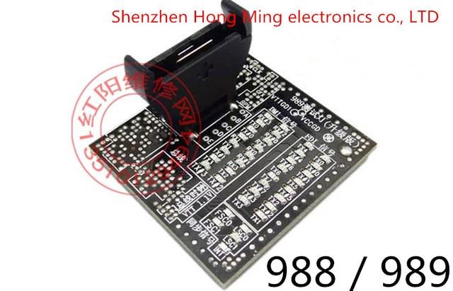 Laptop 988 989 CPU socket tester para I3, I5, I7 motherboard laptop com LED