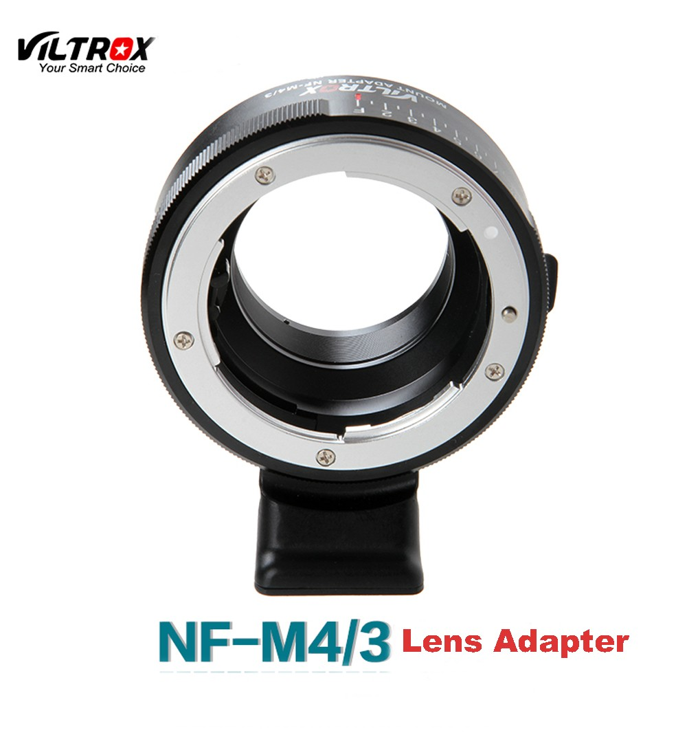 NF-m43 G/F/AI/S/D AF-S lens to E mount w/ Tripod Aperture adapter ring for Micro 4/3 M4/3 GX7 GH1 BMPCC E-M5 epl5 ep1 camera