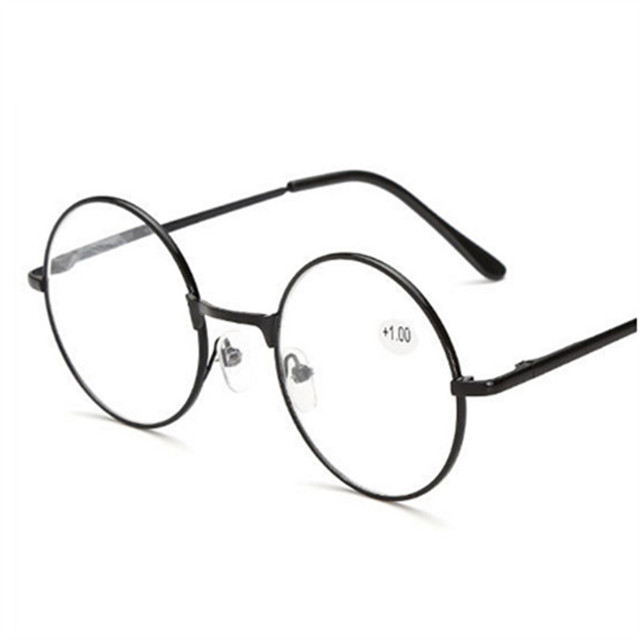 Round Spectacles Men Women Reading Glasses For Harry Potter Metal Frame Glasses Male Female Mirror Personalized + 100...+400