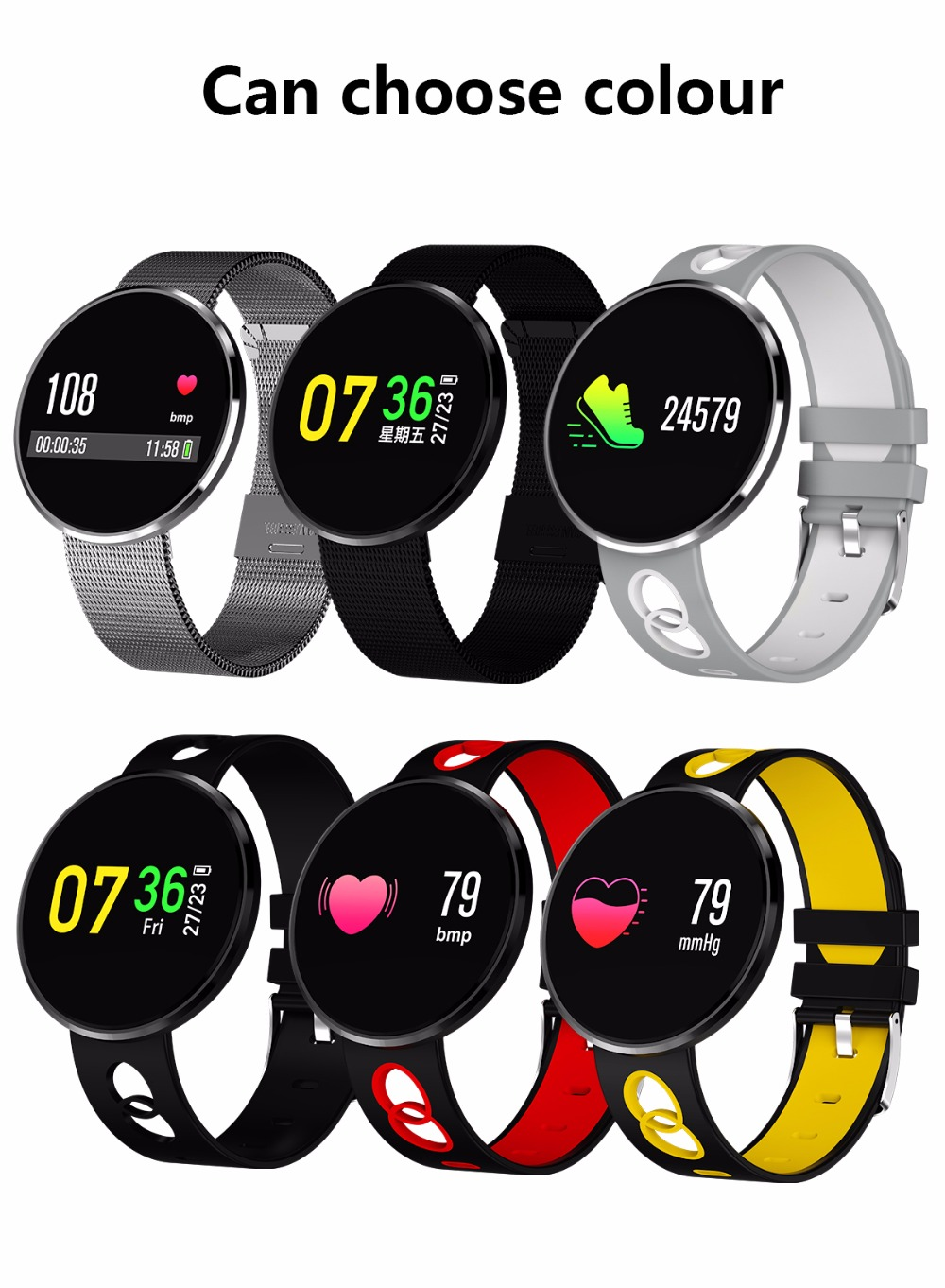 CF006H X6 Bluetooth Waterproof Smart Watch Fashion Blood Pressure Heart Rate Monitor Smartwatch 2018 for Android IOS women men s3 bluetooth waterproof smart watch wristband fashion women ladies heart rate monitor fitness tracker smartwatch for android ios