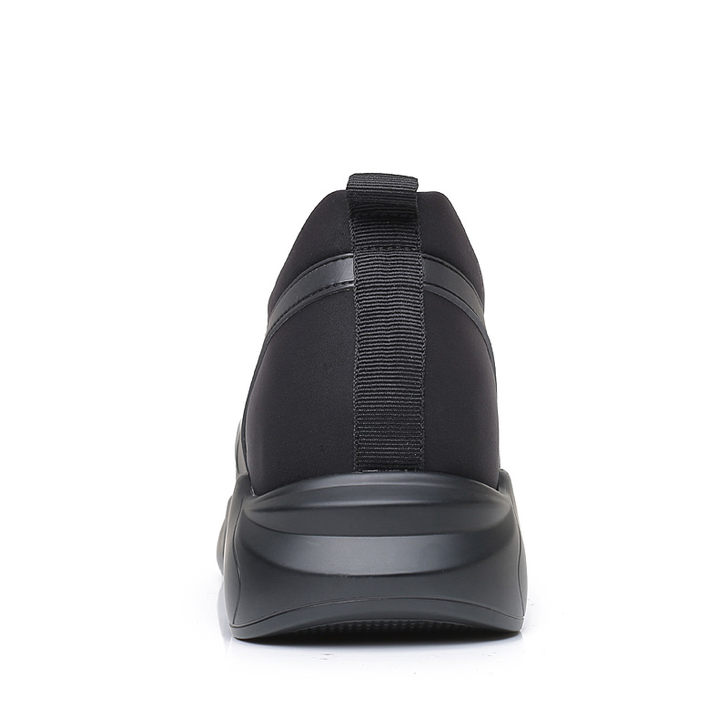 Новый Повседневное комфорт на открытом воздухе, визуально увеличивающая рост; спортивная обувь Скрытая корректирующая подъем стелька выше... - 4