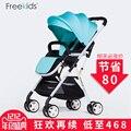 Freekids bebé del coche ultra-ligero portátil niño suspensión carro plegable paraguas coche de bebé cochecitos de bebé cochecito de bebé de viaje