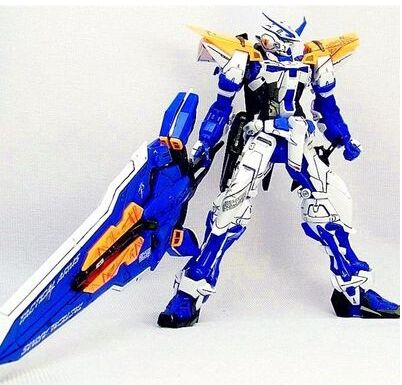 Gundam Astray Blue Frame MG 1 100 assembly toy robot building toys daban model action figure