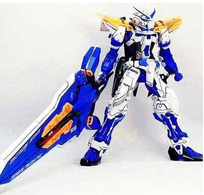 Gundam Astray กรอบสีน้ำเงิน MG 1:100 ชุดของเล่นหุ่นยนต์ของเล่น daban รุ่น action figure-ใน ฟิกเกอร์แอคชันและของเล่น จาก ของเล่นและงานอดิเรก บน   1
