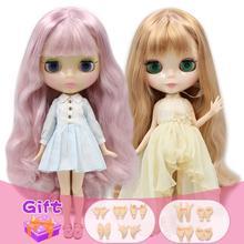 Blyth 1/6 кукла Обнаженная тела 30 см игрушки BJD разных типов кожи загар с макияжем DIY модные куклы подарок для девочки