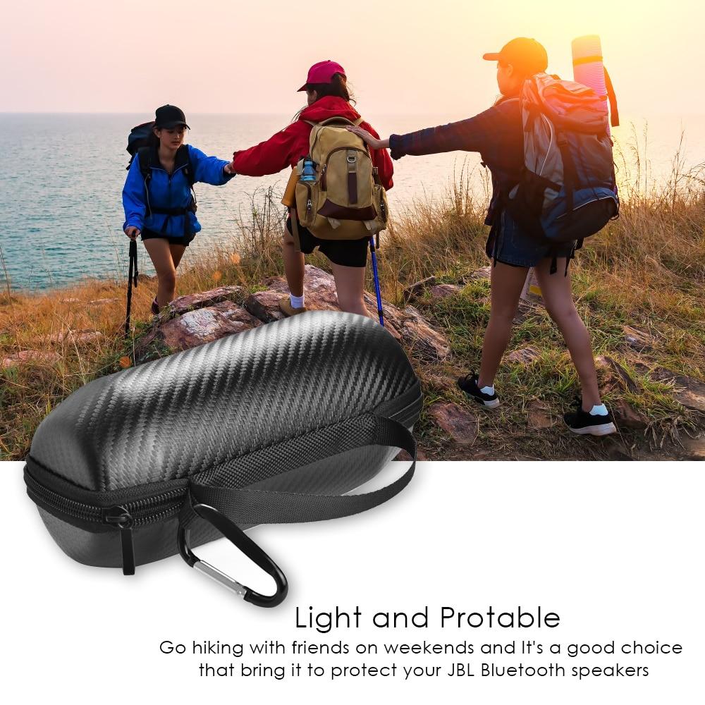 Hard EVA Protect Case for JBL Flip 3 Flip 4 Speaker Cover Portable Travel Carry Storage Case Pouch for JBL Flip3 4 Zipper Bag in Speaker Accessories from Consumer Electronics