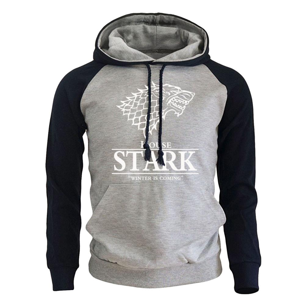 House Stark Winter Is Coming Men's Sportswear Sweatshirt 5