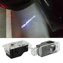 kanuocCar Door Welcome Light Logo Projector For Audi A3 A4 B6 B8 B5 A6 C5 C6 TT Q5 Q7 Q3 A5 A8 A7 A1 R8 8P 8L 8V RS Quattro