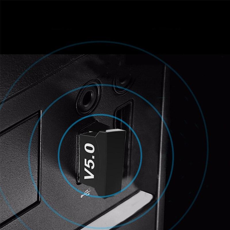 Creacube V5.0 Wireless USB Bluetooth 5.0 Adapter Bluetooth Dongle Music Receiver Adaptador Bluetooth Transmitter For PC RTL8761B 4