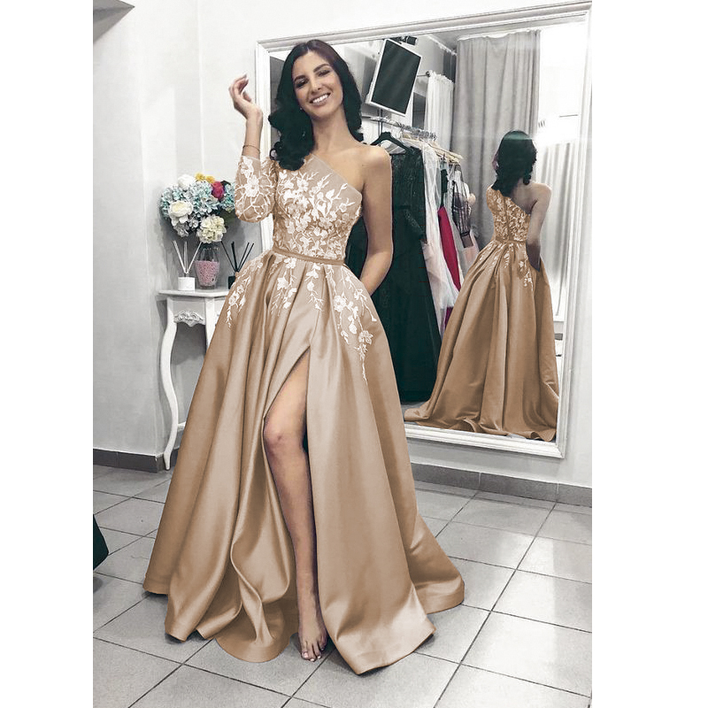 Vinca-sunny-Sexy-evening-dresses-with-slit-one-shoulder-prom-dress-satin-women-patry-gown-formal (4)