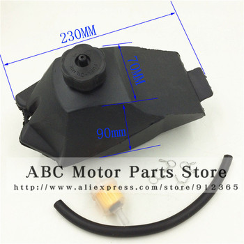 Gas gasolina del tanque de combustible para 2 tiempos 49cc 47cc chino Mini moto de la moto cicleta ATV Quad 4 ruedas de la bici de la suciedad