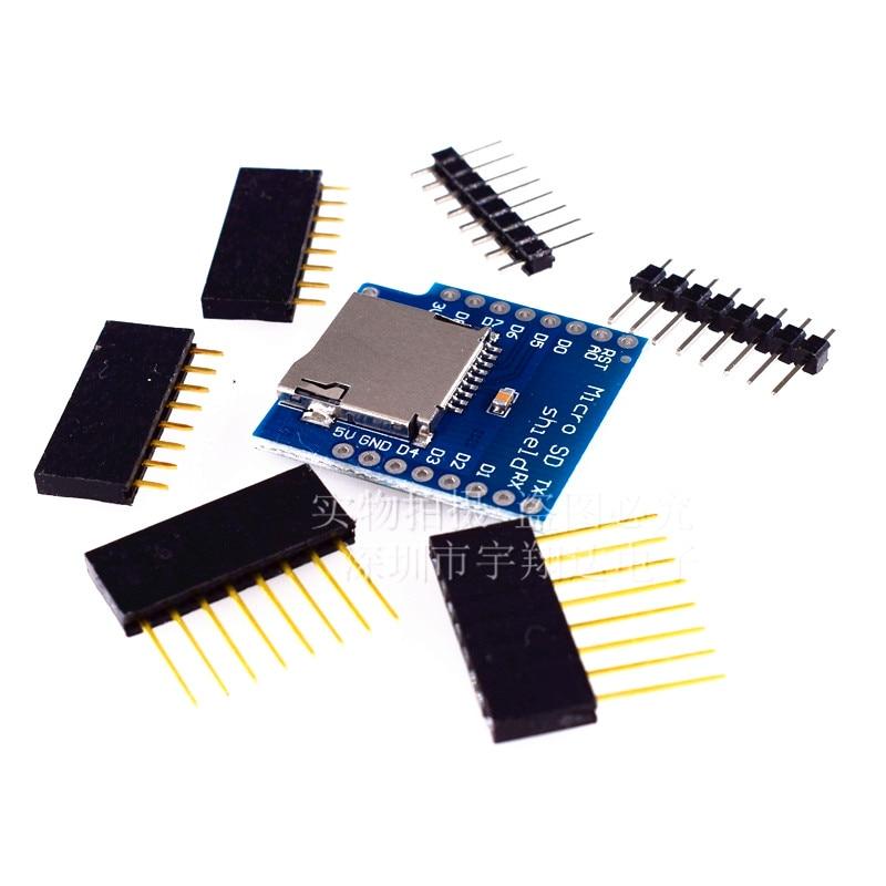 Micro SD Card Shield For D1 Mini TF WiFi ESP8266 Compatible SD Wireless Module