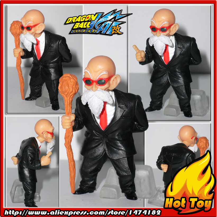 100% Original BANDAI Gashapon PVC Toy Figure HG Part 21 -  Master Roshi from Japan Anime Dragon Ball Z (5.5cm tall) 100% original bandai gashapon figure hg part 20 goku super saiyan special ver from japan anime dragon ball z 9cm tall