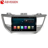 Asvegen Quad Core Android 7.1 Car Multimedia Player GPS Navigation For Hyundai Verna 2016 2017 with Bluetooth Wifi Radio Map
