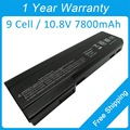 New 9 cell 7800mah laptop battery for hp EliteBook 8460p 8560p 8460w BB09 ST09 CC06 CC06X CC09 QK640AA HSTNN-LB2I