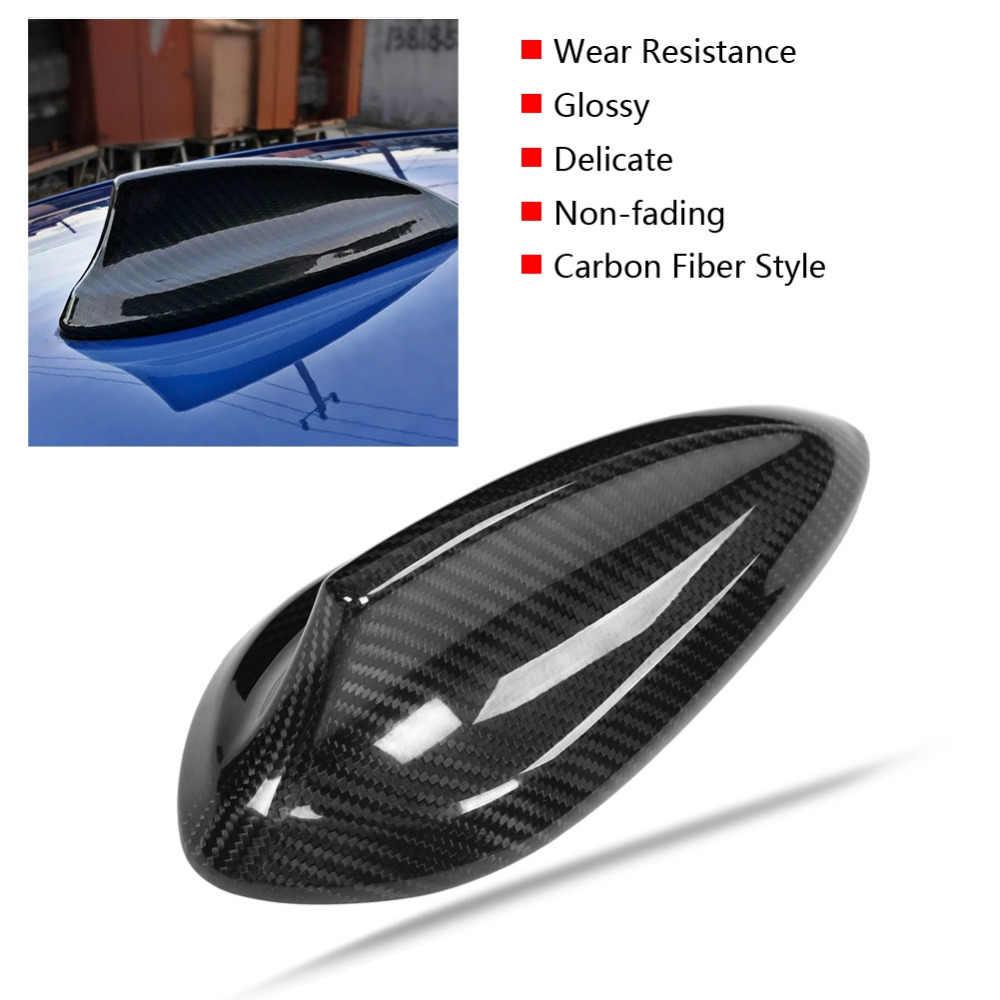 سيارة الكربون الألياف هوائي القرش زعنفة غطاء تقليم ل BMW F22 F30 F35 F34 F32 F33 F80 خفيفة الوزن و غير يتلاشى ABS البلاستيك صنع