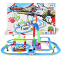 Thomas And Friends Electric Flashing Trains Model Slot Track Set Children's Creative Toys Trackmaster Miniature Vehicles