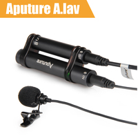 Aputure A Lav Lavalier Microphone Omnidirectional Condenser Mic For Mobile Phone Pad And Other Recorder Equipments