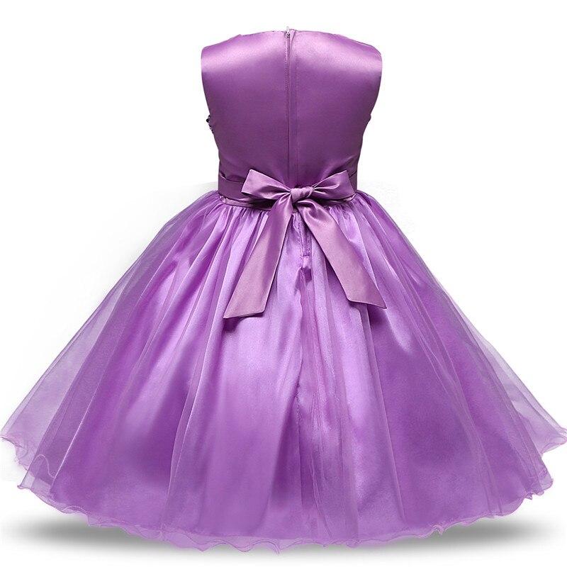 Verano niños Vestidos para Niñas princesa Vestidos de fiesta ropa 1 ...