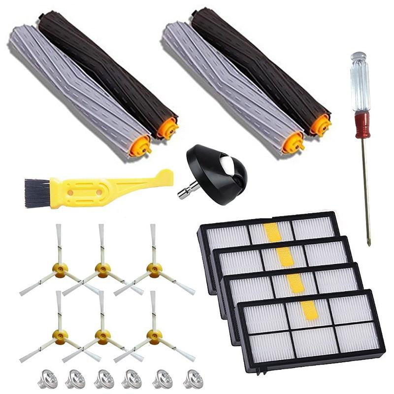 ЩЕТОЧНЫЕ фильтры, подходящие для комплекта запчастей IRobot Roomba, серия 800 860 865 866 870 871 880 885 886 966 890 900 960 980, замена