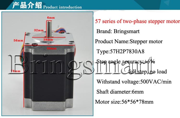 Bringsmart Miniatur Zwei phasen schrittmotor 1,8 Grad Niedriger ...