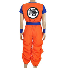 Anime Dragon Ball Son Goku Cosplay Costumes Halloween Clothing