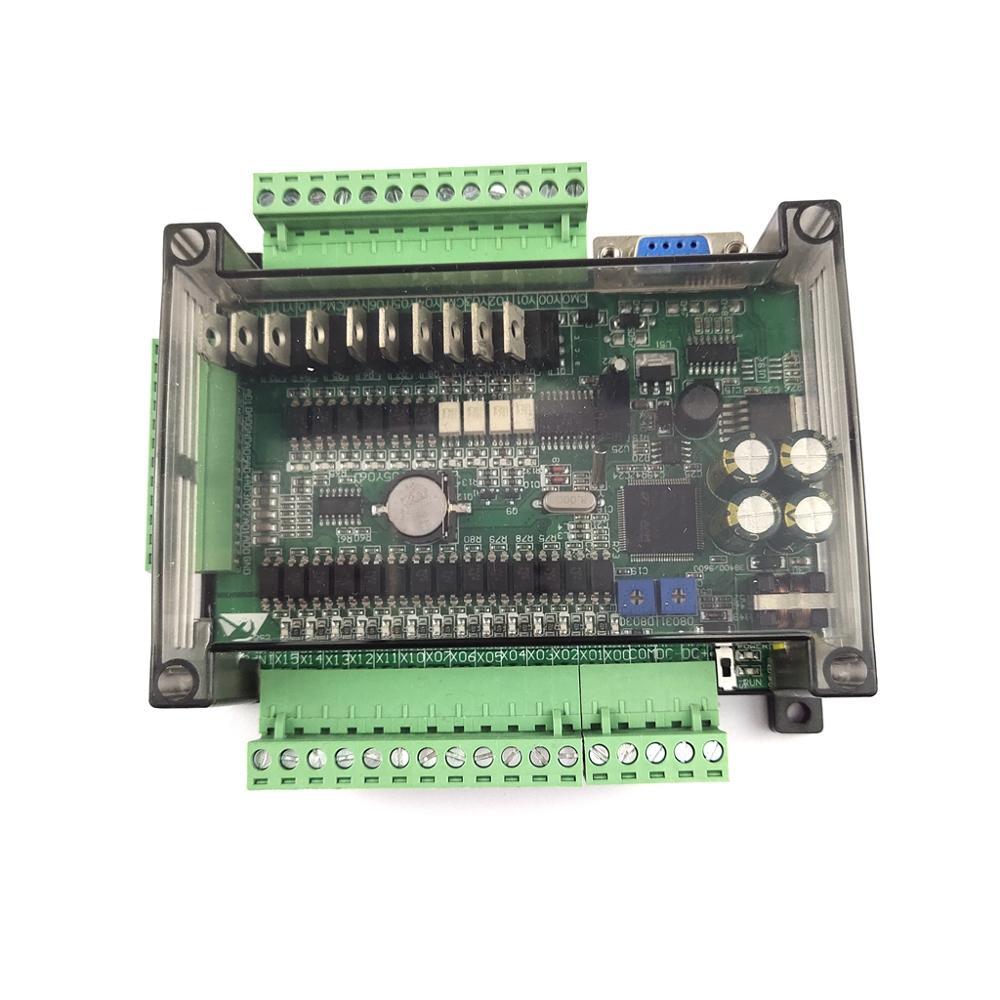 FX3U-24MT Industrial Control Board Controller Controls Stepper Motor Hydraulic Valve Intermediate Relay Plc High Speed Pulse