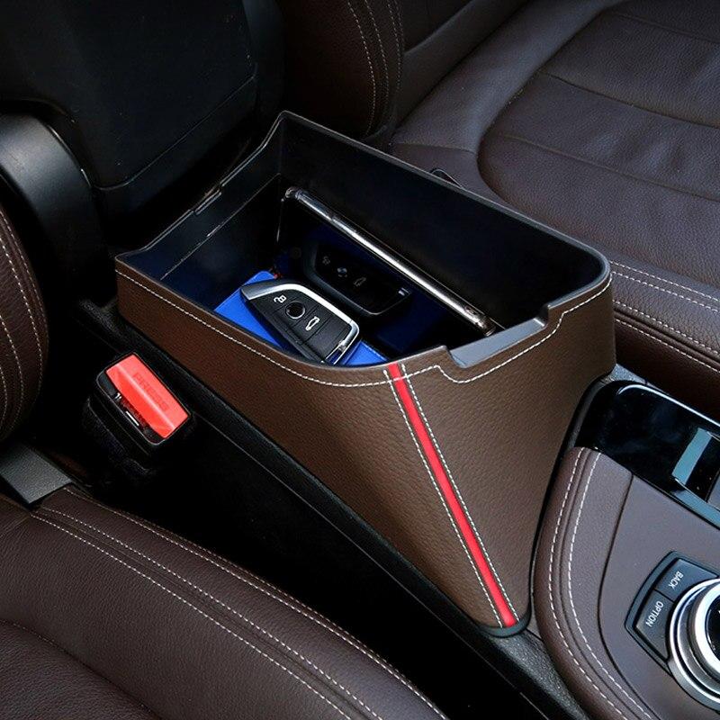4 Styles pour BMW X1 F48 2016-2019 accoudoir central boîte de rangement conteneur pour X2 F47 2018 2019 accessoires de voiture conduite à gauche