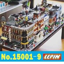 Лепин вид на улицу города архитектура создатели 15001 15002 15003 15004 15005 15006 15007 15008 15009 15019 модель legoing
